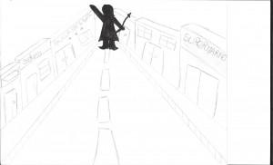 P on the street